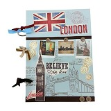 BUKU UNIK London [CBB-138] - Scrapbook and Patchwork